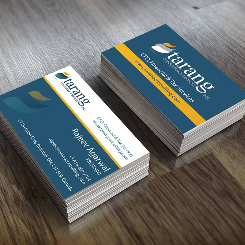 Tarang Consulting Branding / Print